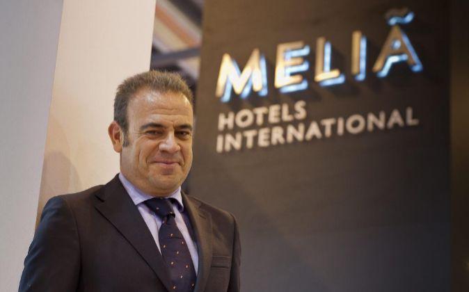 Gabriel Escarrer Jaume, vicepresidente de Melia Hotels.