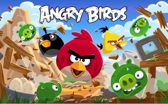El videojuego Angry Birds.