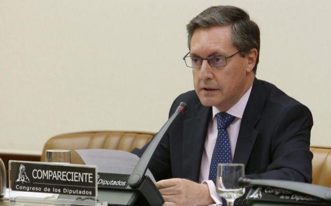 El director general de la Agencia Tributaria (AEAT), Santiago...
