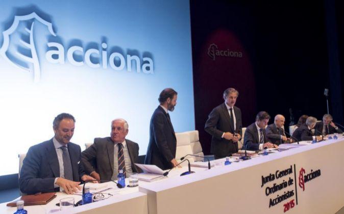 Junta de Accionistas de Acciona.