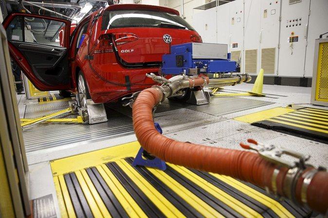 Test de evaluación de humos realizado a un Volkswagen Golf TDI