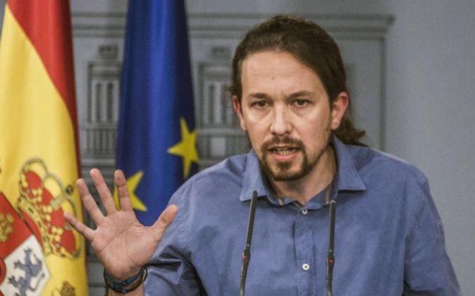 El secretario general de Podemos Pablo Iglesias.