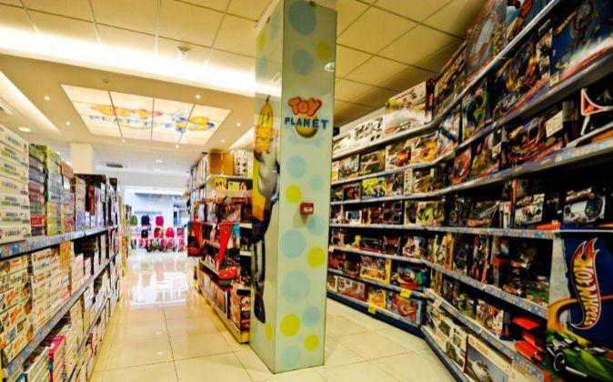 Uno de los establecimientos de la juguetería.