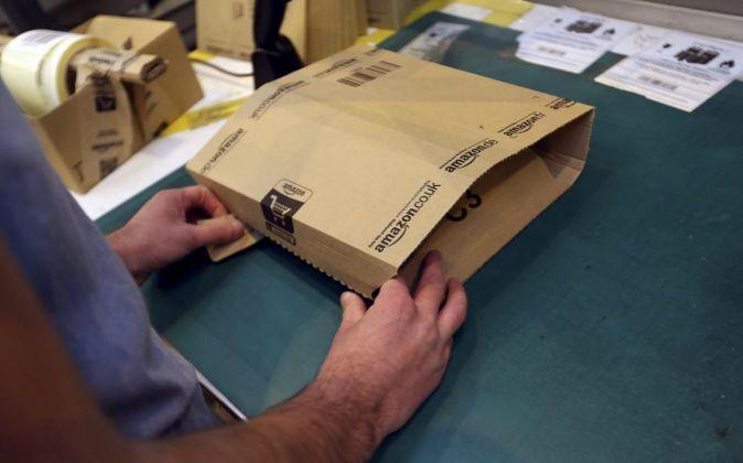 Embalaje de Amazon