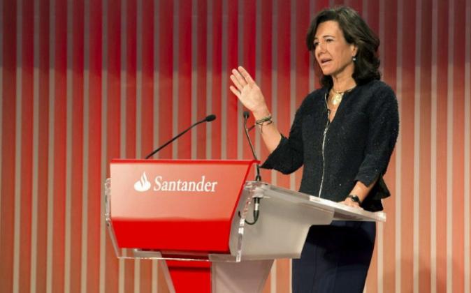 Ana Botín, presidenta del Grupo Santander.