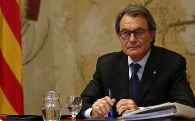 El presidente en funciones de la Generalitat, Artur Mas.