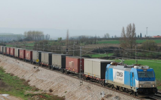 Transporte de mercancías. Archivo.