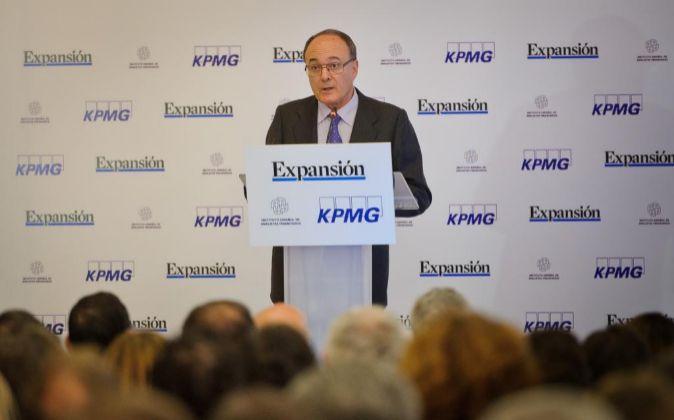 LUIS MARIA LINDE, GOBERNADOR DEL BANCO DE ESPAÑA
