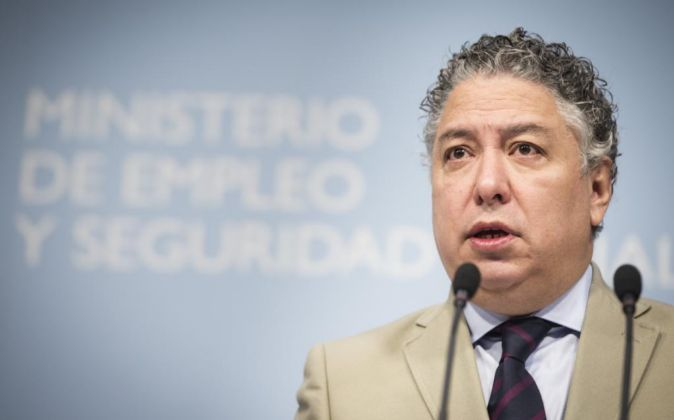 El secretario de Estado de Seguridad Social, Tomás Burgos.