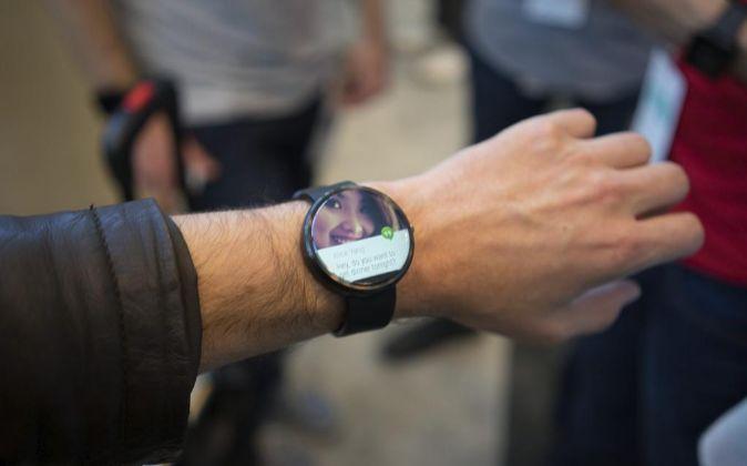 Reloj de Motorola