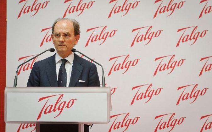 Carlos de Palacio Oriol, presidente de  Talgo