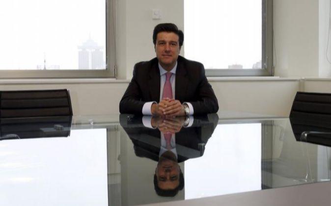 El presidente de la socimi Merlin Properties, Ismael Clemente, durante...