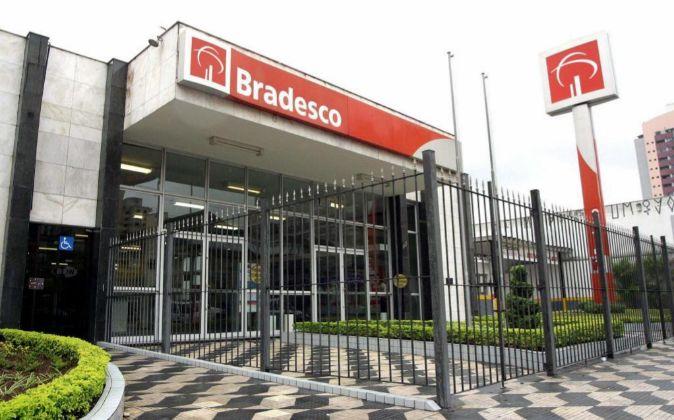 Una sucursal del banco Bradesco