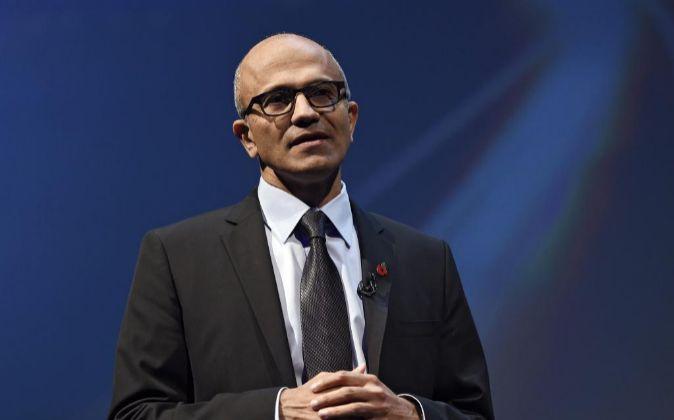 El director ejecutivo de Microsoft, Satya Nadella