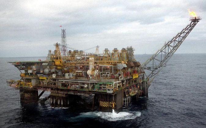Plataforma de Petrobras.