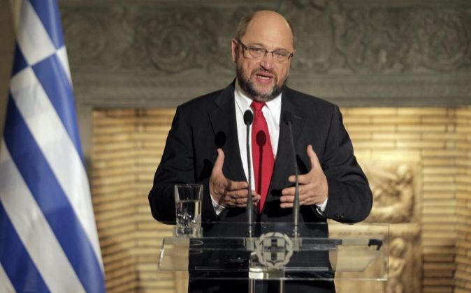 El presidente del Parlamento Europeo Martin Schulz.