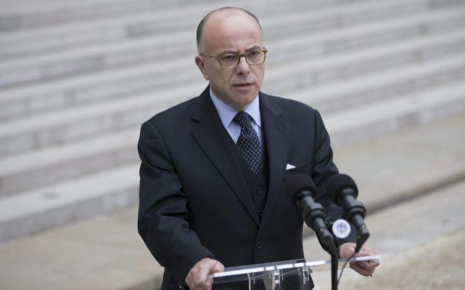 El ministro del Interior francés Bernard Cazeneuve.