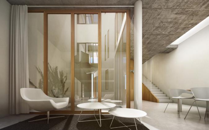 El proyecto de adaptación de la casa patio andaluza a Passivhaus se...