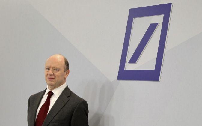 El copresidente del Consejo de Deutsche Bank, John Cryan.