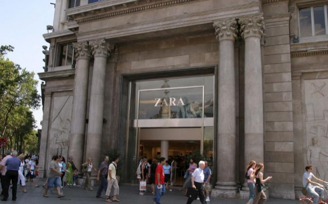 a8b09c89953 Zara abrirá una de sus mayores tiendas del mundo en Barcelona