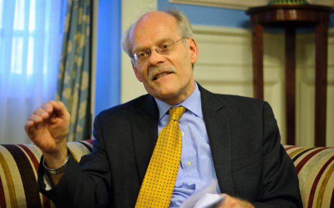 Presidente del Comité de Basilea, Stefan Ingves