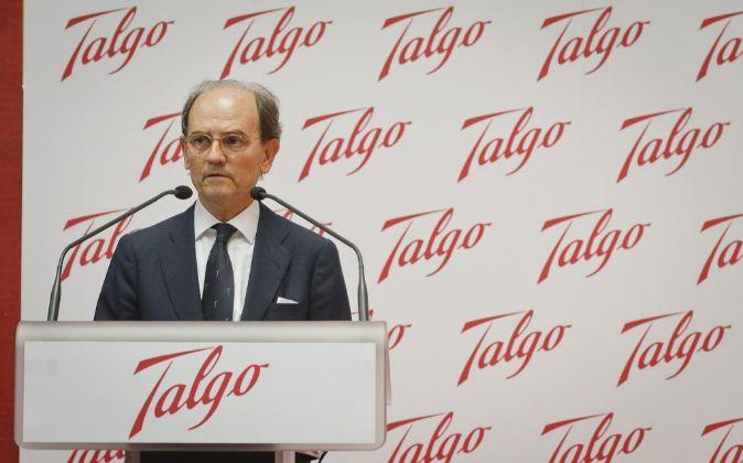 Carlos Palacio Oriol, presidente de Talgo.