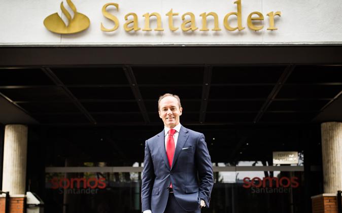 Rami Aboukhair, primer ejecutivo del Banco Santander en España