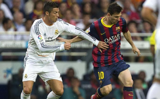 Cristiano Ronaldo y Leo Messi.