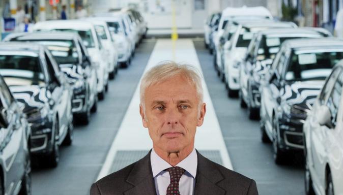 Mathias Müller, consejero delegado del Grupo Volkswagen