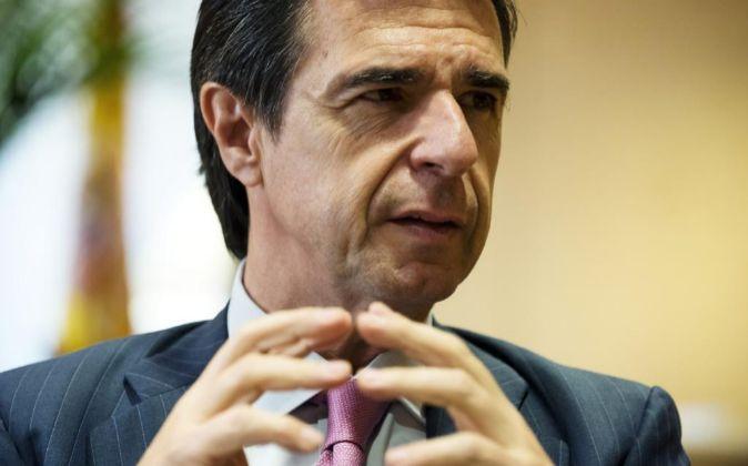 José Manuel Soria, ministro español de Industria, Energía y...