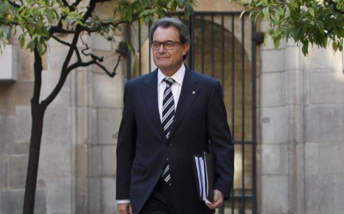 El presidente de la Generalitat en funciones Artur Mas.