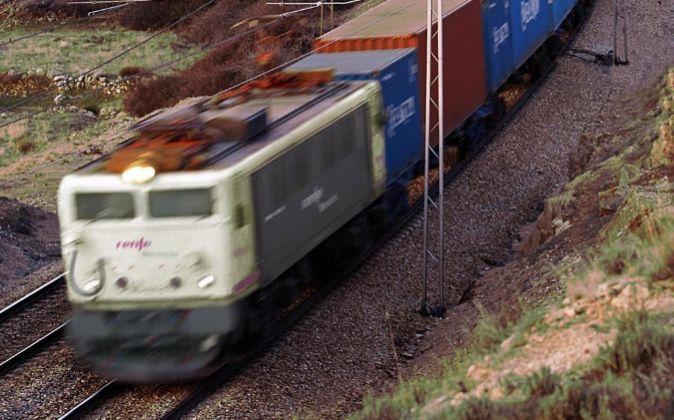 Tren de mercancías de Renfe