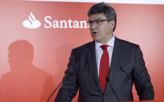 El consejero delegado del Banco de Santander, José Antonio Álvarez.