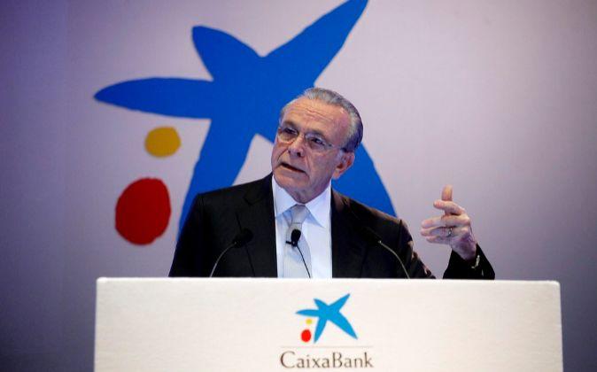 Isidre Fainé, presidente de CaixaBank