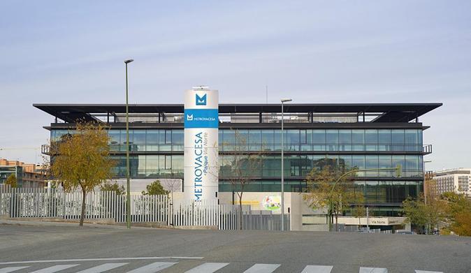 Parque empresarial de Metrovacesa en Las Tablas (Madrid).