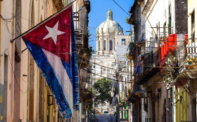 Imagen de una calle de La Habana (Cuba).