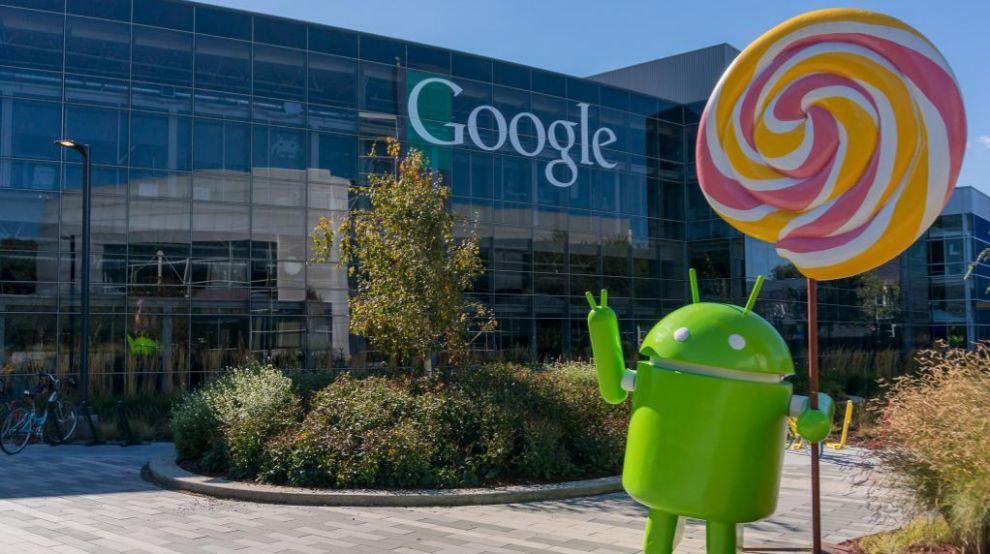 Sede de Google, en Mountain View (California, EEUU).