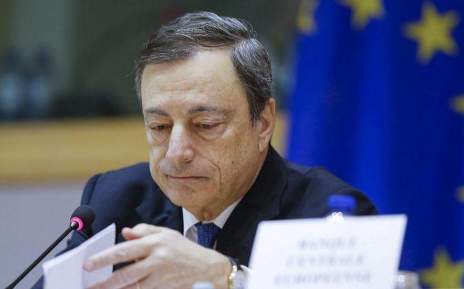 El presidente del Banco Central Europeo, Mario Draghi.