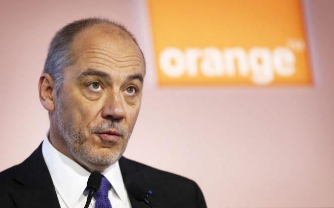 Stéphane Richard, presidente de Orange.