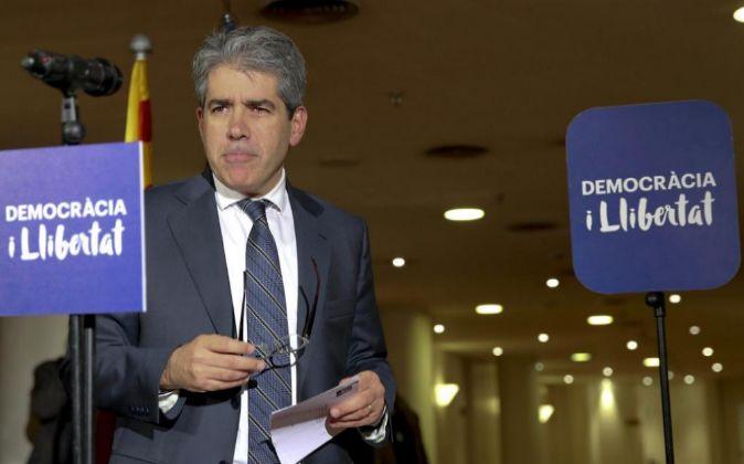 El cabeza de lista de Convergència (Democràcia i Lliberta)t,...