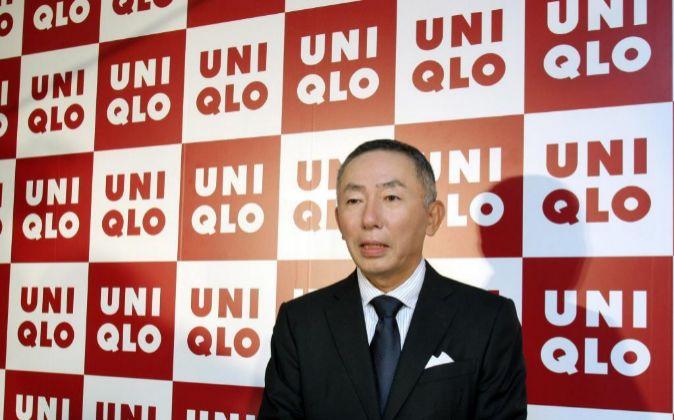 Tadashi Yanai, presidente de Fast Retailing, gigante textil al que...