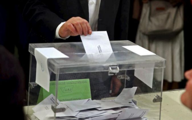 Urna electoral en el pasado 27-S.