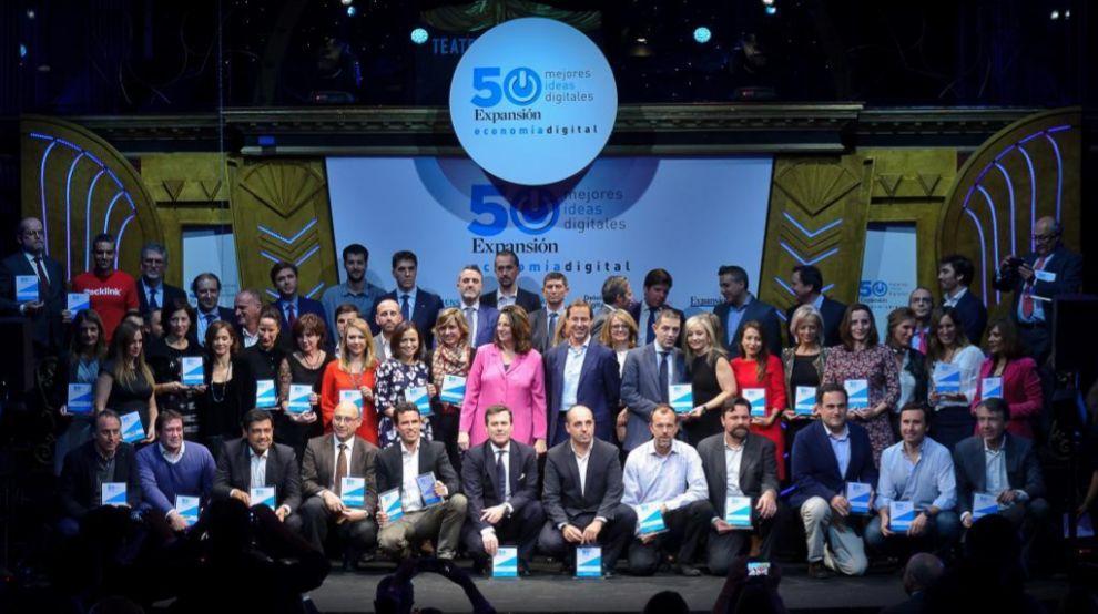 Entrega de Premios Economía Digital Foto: JMCadenas