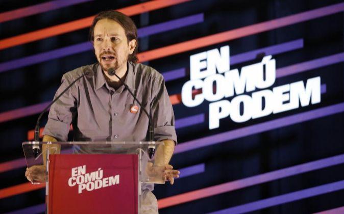 El candidato de Podemos a la Presidencia del Gobierno Pablo Iglesias.
