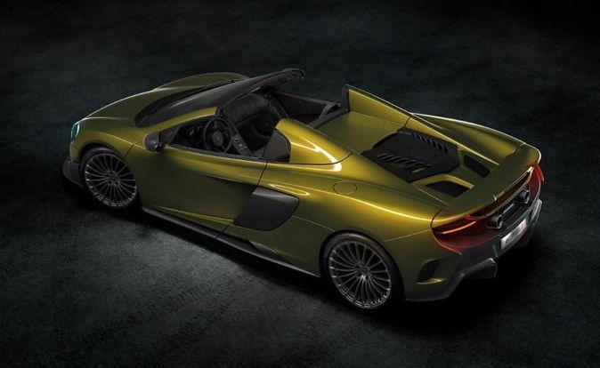 c2a713d8d2 McLaren 675LT Spider: velocidad en la ligereza