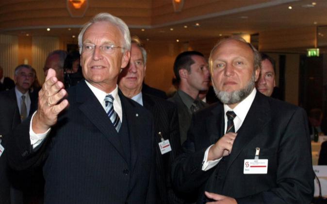 Imagen de archivo de Edmund Stoiber, presidente del Länder de...
