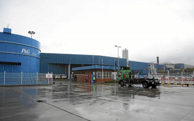 La fábrica de Procter & Gamble, ubicada en Mataró.