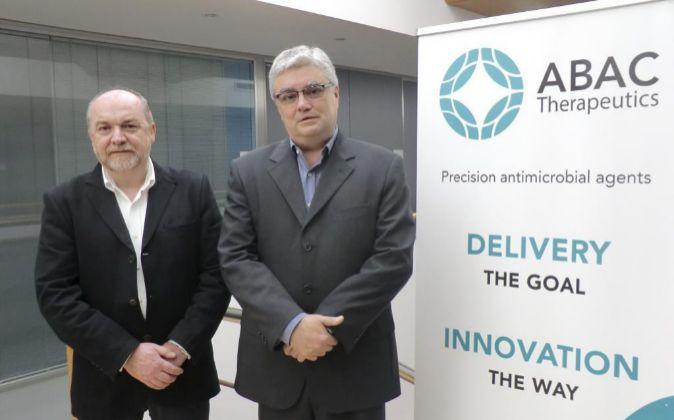 Los fundadores de Abac Therapeutics, Domingo Garallo y Albert Palomer