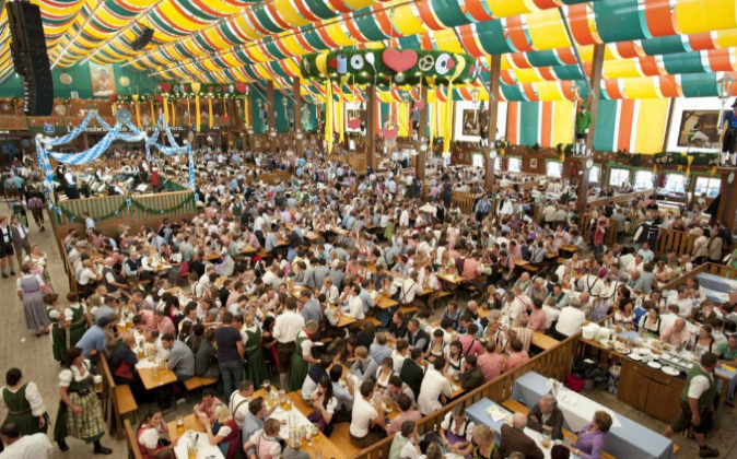 Festival de la cerveza de Múnich. Archivo.