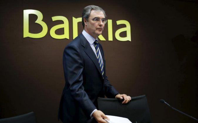 El consejero delegado de Bankia, José Sevilla.